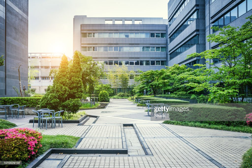 Office Park in Japan : Stock Photo