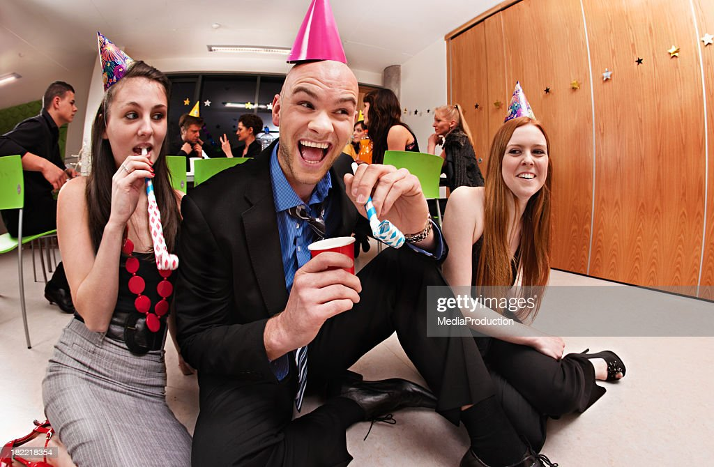Office Party : Stock Photo