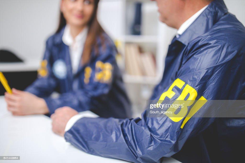 FBI office : Stock Photo