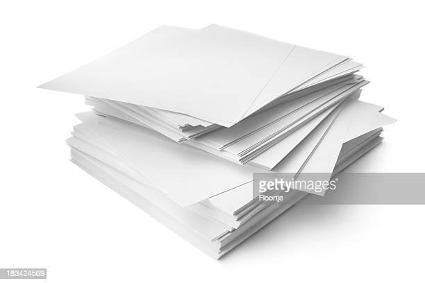 Büro: Haufen von Papier