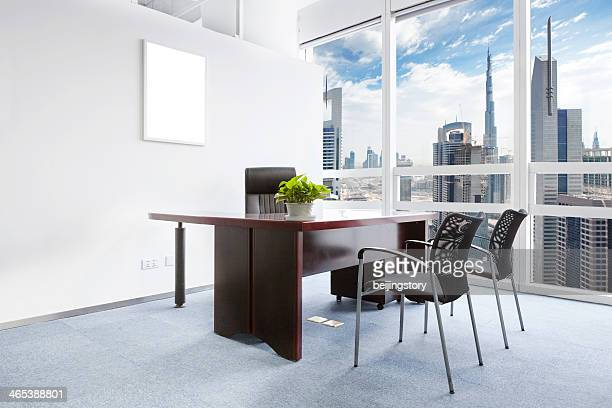 office room with good cityscape
