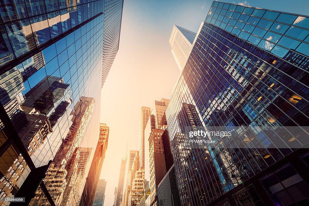 Büro skysraper in der Sonne : Stock-Foto