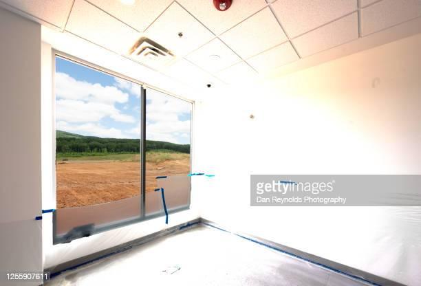 office spaceconstruction site hdr - abszess stock-fotos und bilder