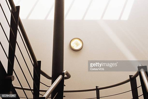 office staircase - vcg stock pictures, royalty-free photos & images