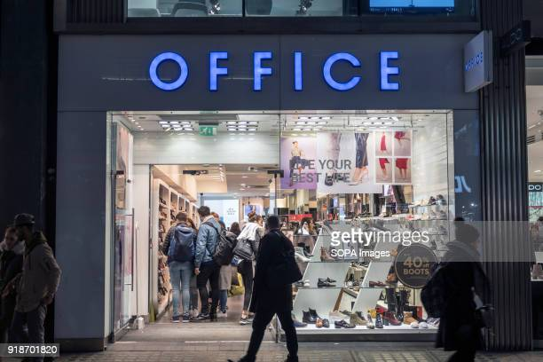 Office store seen in London famous Oxford street Central London is one of the most attractive tourist attraction for individuals whose willing to...
