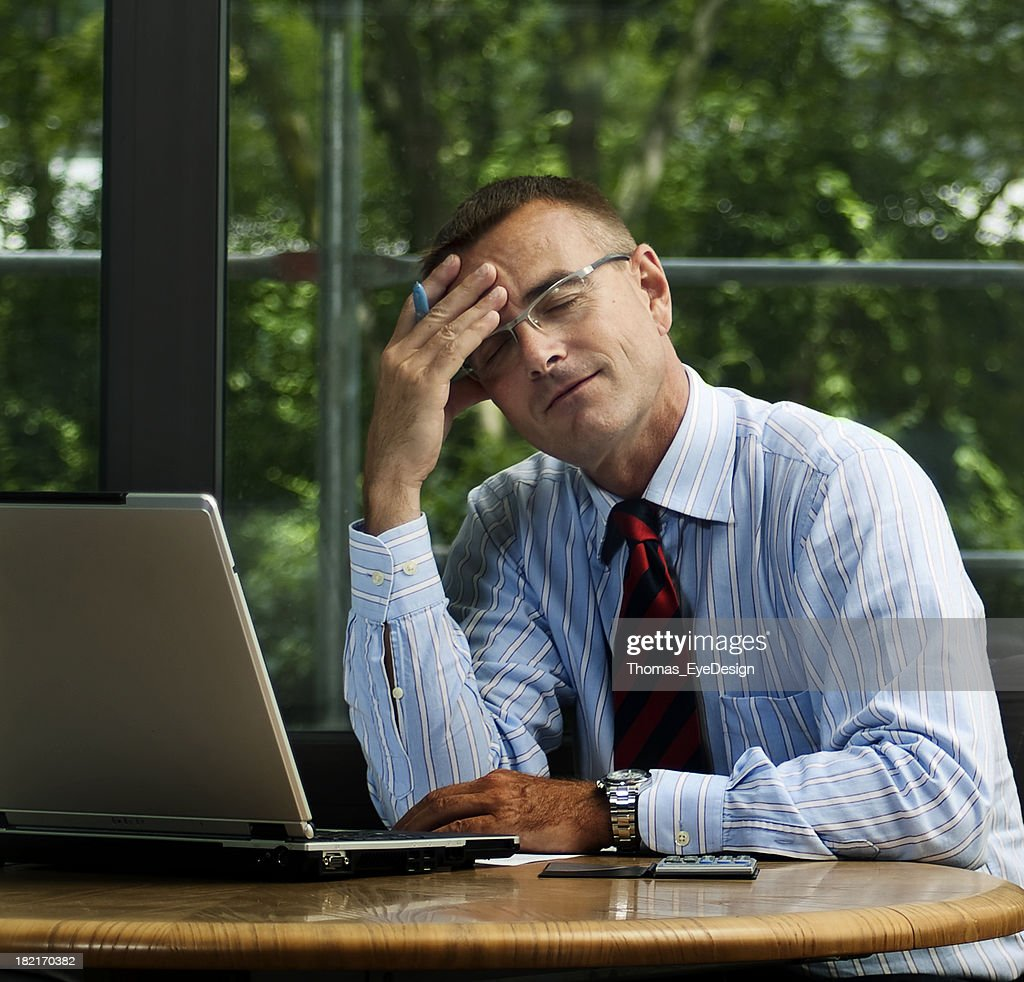 Office Stress Series : Stock Photo