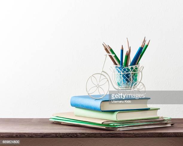 office supplies. - 文房具 bildbanksfoton och bilder