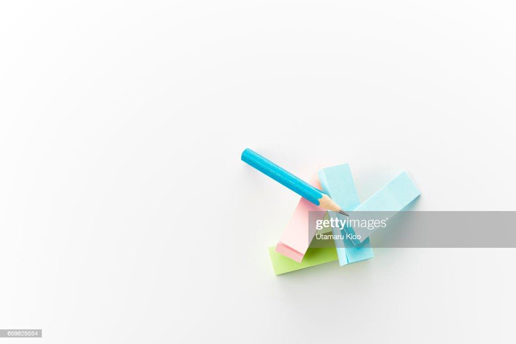 Office supplies. : Stock Photo