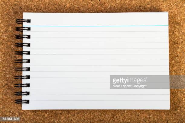 office supplies - lined paper stock pictures, royalty-free photos & images