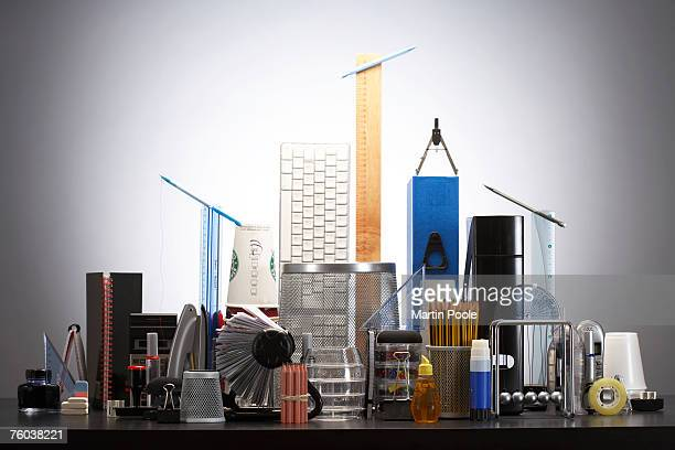 Office supply arranged on desk