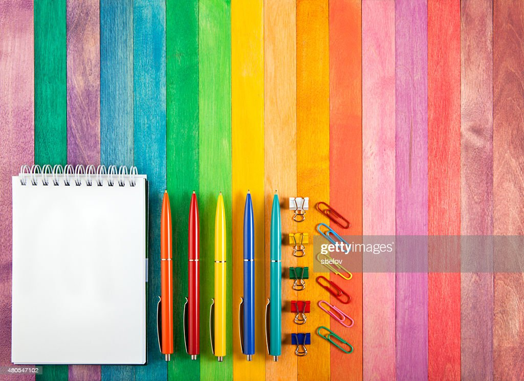 office supply concept : Stock Photo