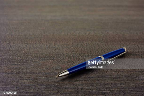 office supply. - ballpoint pen stock photos and pictures
