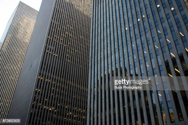 Office towers along 6th Avenue in Midtown Manhattan, New York City
