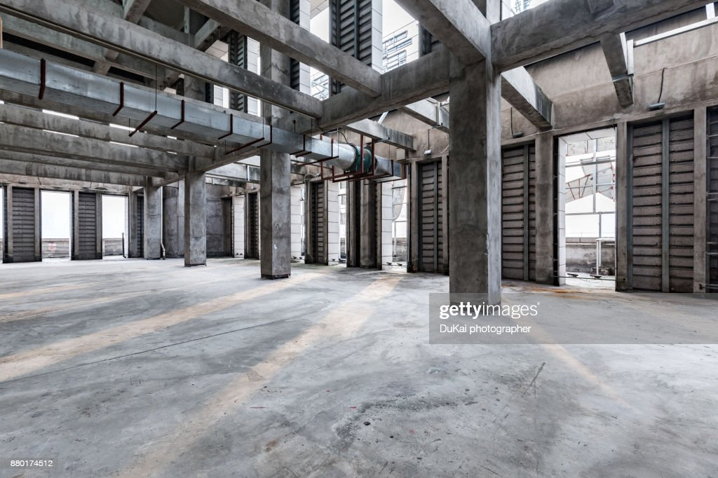 Office under construction : Stock Photo