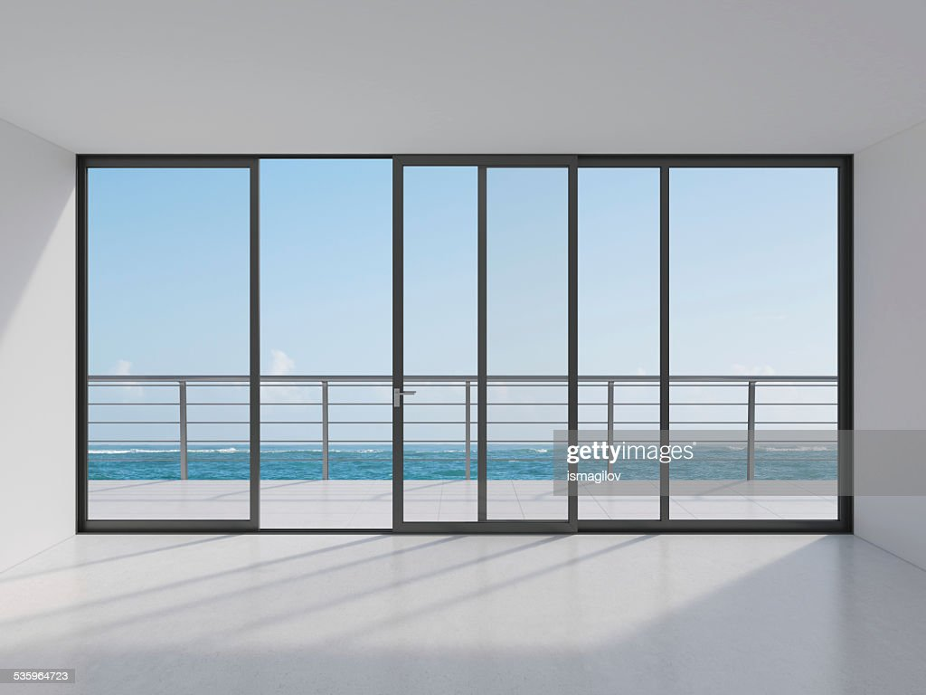 office view to ocean : Stock Photo