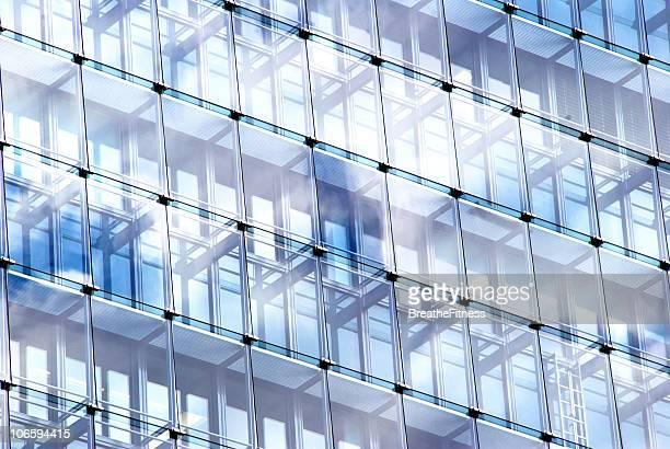 Büro Fenster Reflexion