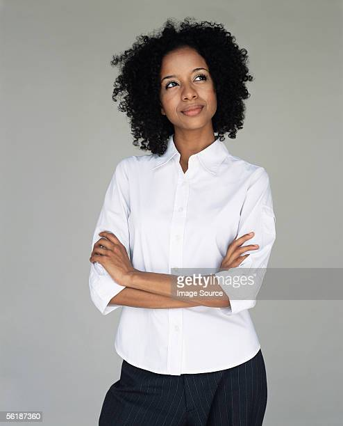 office worker daydreaming - looking up stock pictures, royalty-free photos & images