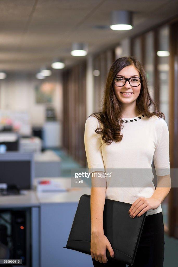 office worker portrait : Stock Photo