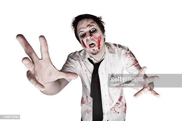 office zombie - zombie fotografías e imágenes de stock