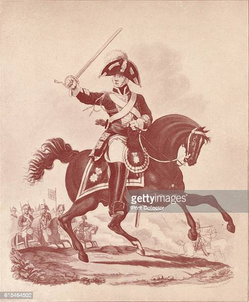 Officer 2nd Regiment Life Guards ' 18121815 After Charles Hamilton Smith From British Military Prints by Ralph Nevill [The Connoisseur London 1909]...