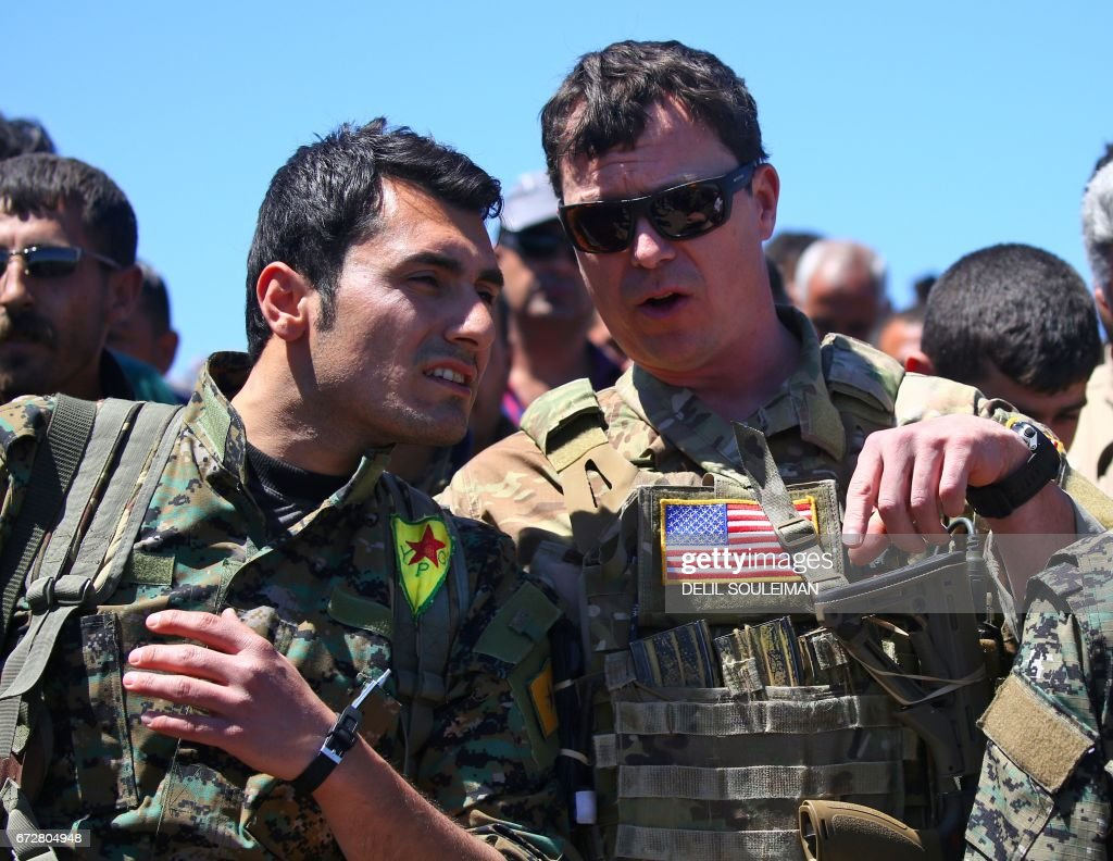SYRIA-CONFLICT-TURKEY-KURDS-US-IRAQ : News Photo