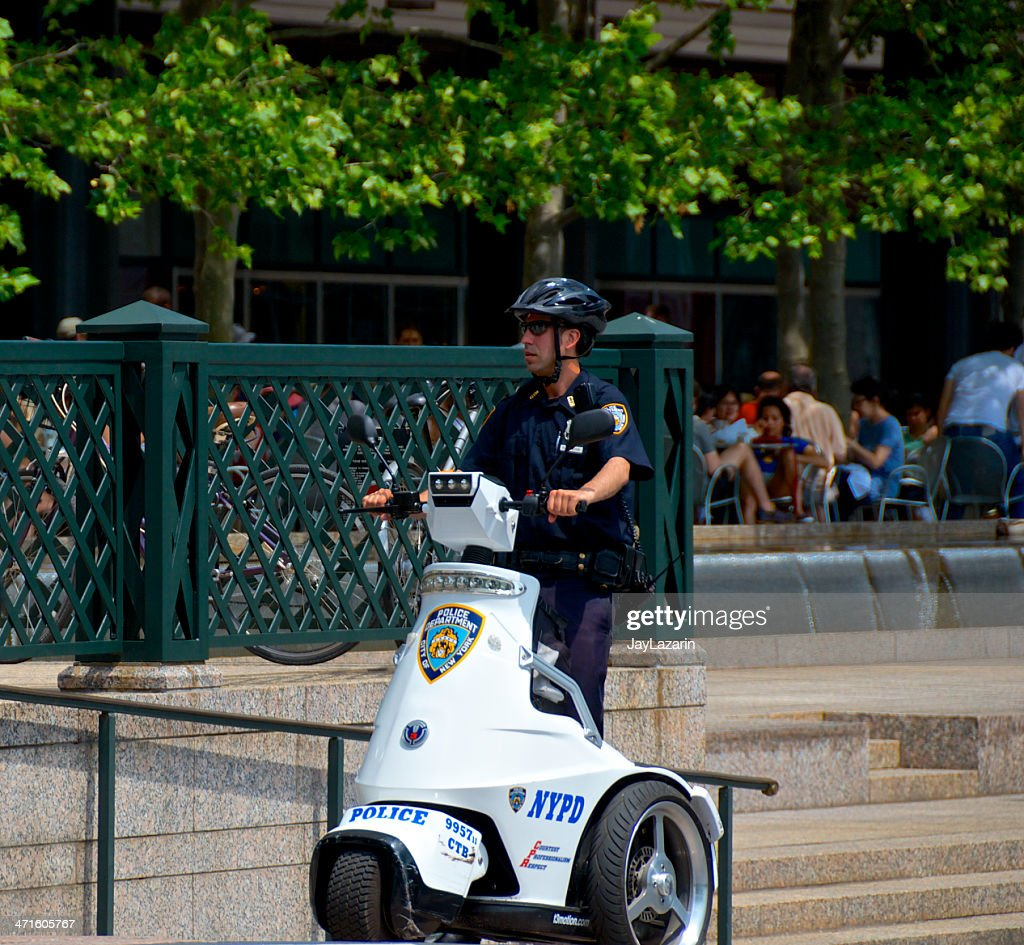 Nypd Officer On T3 Patroller Electric Scooter Lower