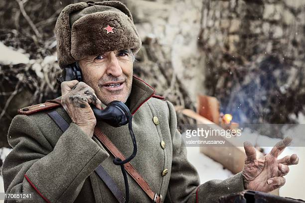 wwii  officer - russian culture stock pictures, royalty-free photos & images