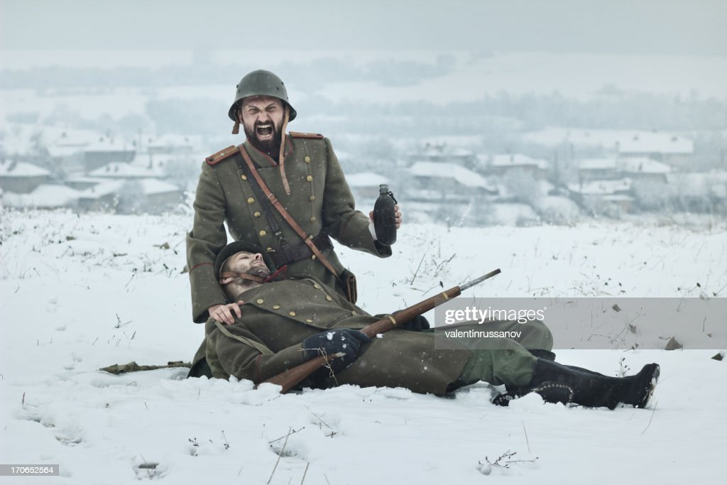 WWII  Officer : Stock Photo