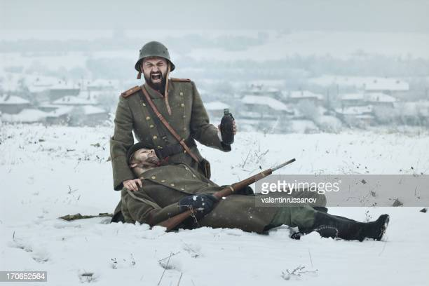 wwii  officer - volgograd stock pictures, royalty-free photos & images