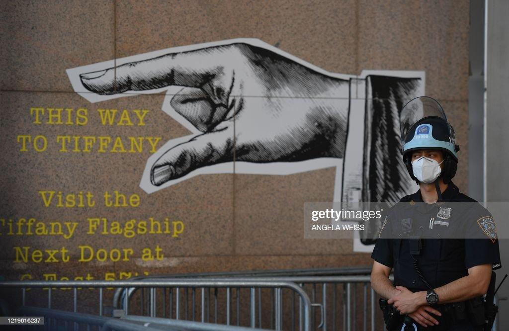 us-politics-race-unrest : News Photo