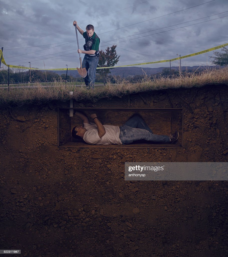 Csi Officer To Unearth A Male Victim Buried Alive