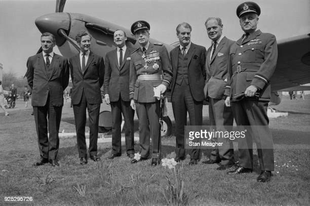 Officers and pilots Johnnie Johnson , Peter Townsend , Robert Stanford Tuck , Frederick Rosier , Alan Christopher Deere , Douglas Bader , Peter Malam...