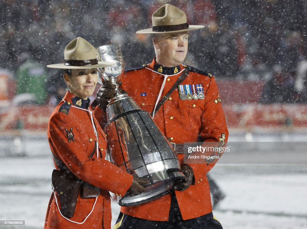 105th Grey Cup Championship Game : Foto jornalística