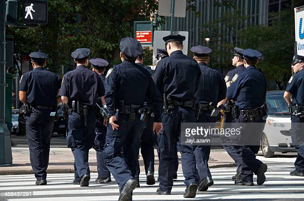 nypd officers during united nations assembly events, new york city - new york city police department stock pictures, royalty-free photos & images