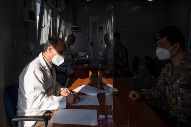 ITA: First Vaccination Unit Of Italian Army Begin Inoculations
