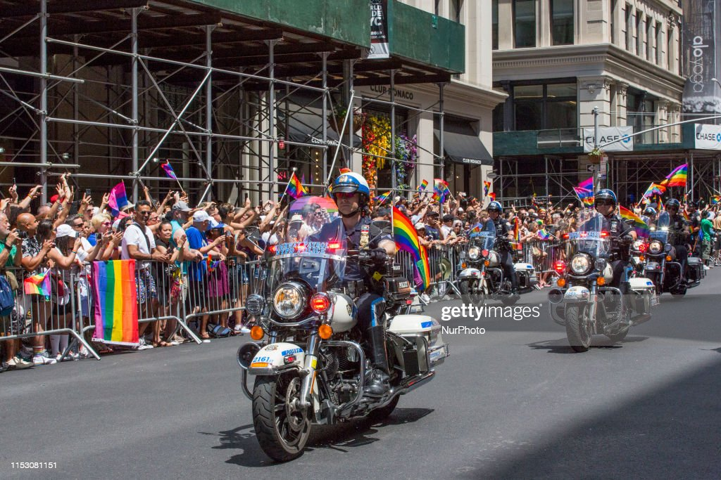 Thousands Flock To Annual Pride March In New York City : News Photo