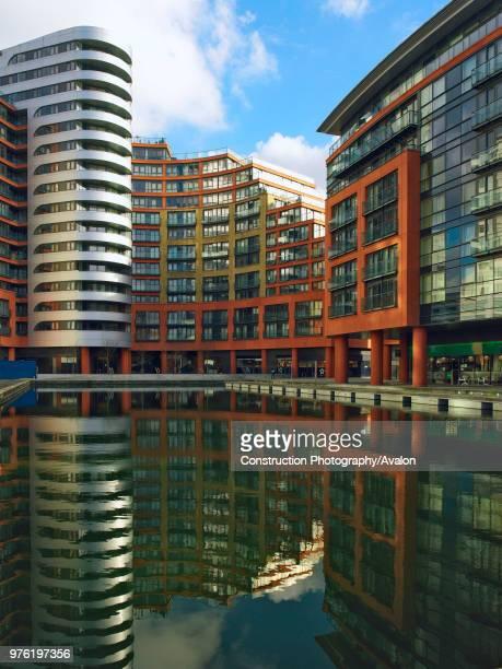 Offices and apartments, Paddington Basin, London, UK.