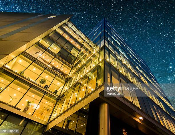 Offices at night