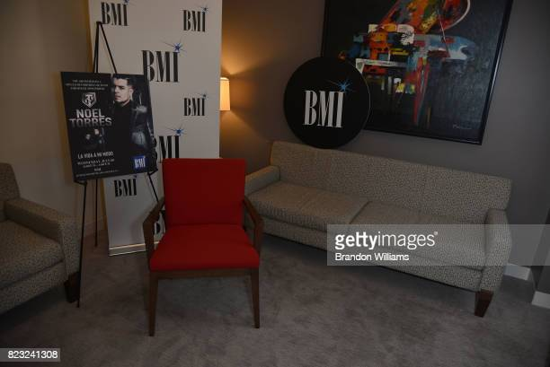 BMI Offices For Noel Torres Record Release Listening Party La Vida A
