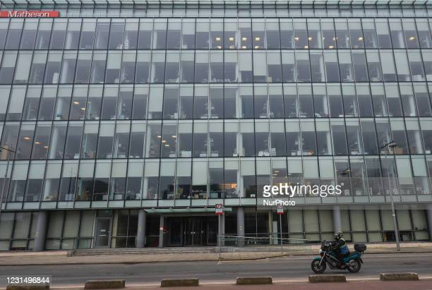 Offices of Matheson , an Irish law firm which specialises in multinational tax schemes, seen in Dublin. On Wednesday, March 3 in Dublin, Ireland.
