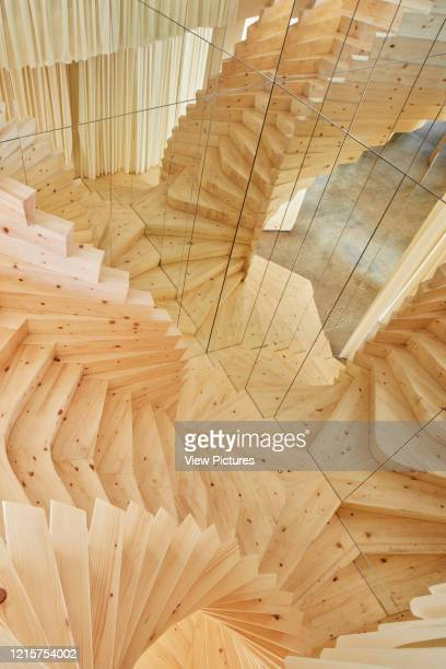 ACME offices stairway view from first floor ACME OFFICES London United Kingdom Architect ACME 2017