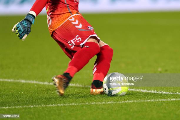Official Ball of the Ligue 1 during the Ligue 1 match between FC Girondins de Bordeaux and Strasbourg at Stade Matmut Atlantique on December 8 2017...