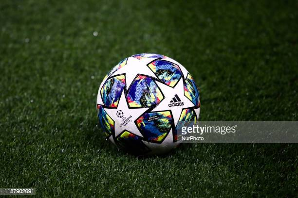 Official Champions League Adidas ball during the UEFA Champions League group H match Chelsea FC - Lille OSC, on December 10, 2019 in London, Great...