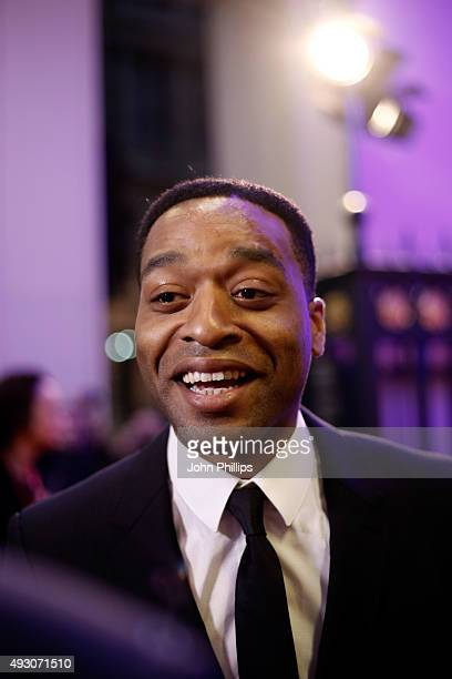 Official Competition Juror Chiwetel Ejiofor attends the BFI London Film Festival Awards at Banqueting House on October 17 2015 in London England