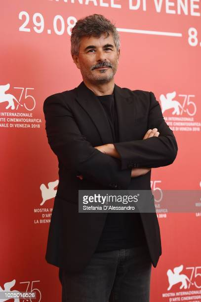 Official Competition jury member Paolo Genovese attends the Jury photocall during the 75th Venice Film Festival at Sala Casino on August 29 2018 in...