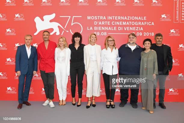 Official Competition jury members Christoph Waltz Taika Waititi Naomi Watts Malgorzata Szumowska Trine Dyrholm Nicole Garcia president of the jury...