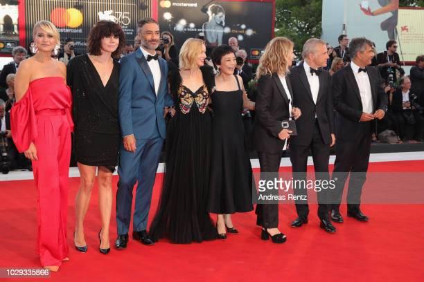 Official Competition jury members Taika Waititi Trine Dyrholm Malgorzata Szumowska Naomi Watts president of the jury Guillermo Del Toro jury members...