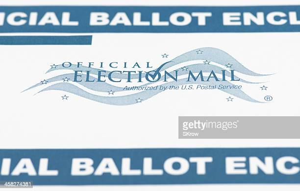 official election mail - absentee ballot stock pictures, royalty-free photos & images