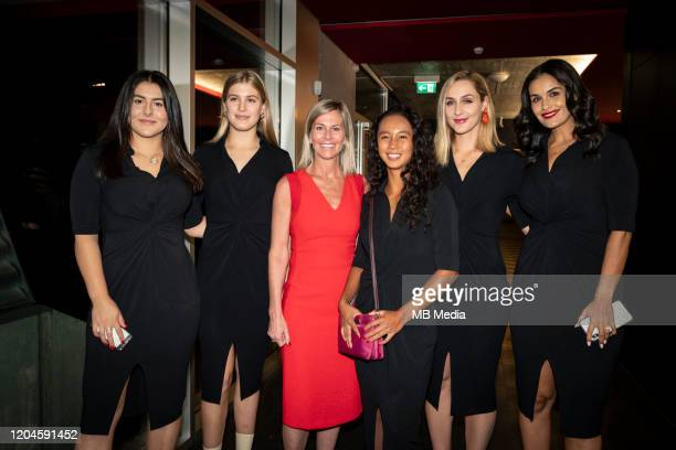 Official Evening Bianca Andreescu Eugenie Bouchard Jennifer Bishop Chair of the Board Leylah Annie Fernandez Gabriela Dabrowski Captain Heidi El...