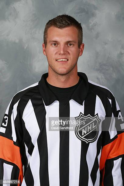 Official Garrett Rank poses for his official headshot for the 20142015 season on September 8 2014 at the Beaver Valley Community Centre in Thornbury...